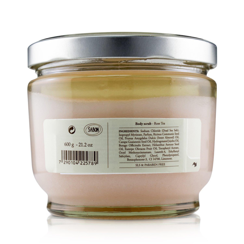 Sabon - 身體磨砂膏-玫瑰茶語