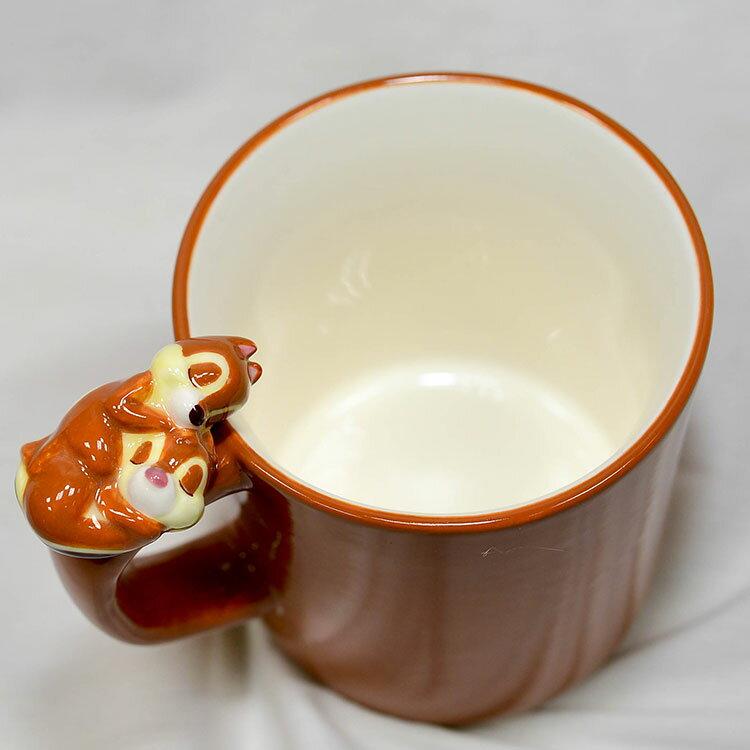 花粟鼠 奇奇 蒂蒂 在馬克杯上 陶瓷馬克杯 正版 日本帶回