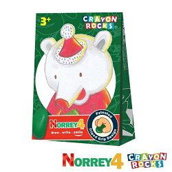 美國【Crayon Rocks】酷蠟石 -聖誕熊諾瑞(4色)