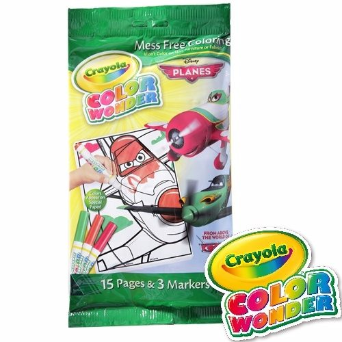《 美國 Crayola 繪兒樂 》神彩迷你著色套裝PLANES