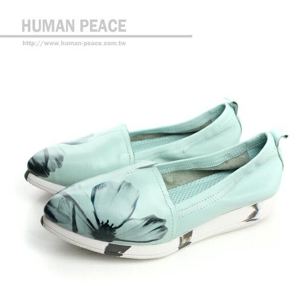 HUMAN PEACE 懶人鞋 藍色綠色 女鞋 no331