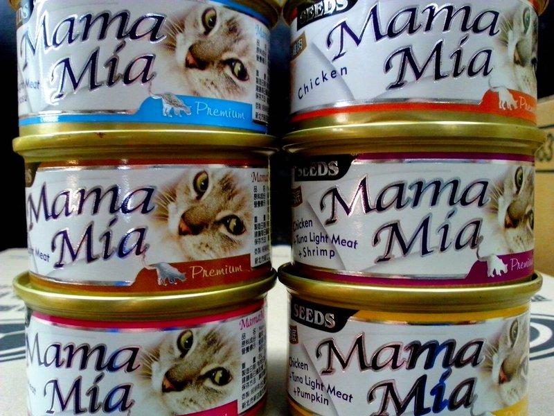 SEEDS MamaMia 貓罐頭 24罐/箱 6種口味 可以混搭 整箱賣場