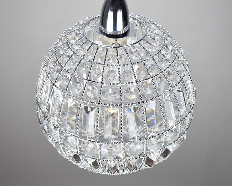 鍍鉻水晶圓形吊燈-BNL00104 1