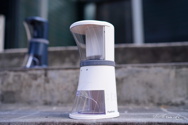 【贈咖啡豆密封罐濾杯篩粉器】Purefresh 醇鮮電動咖啡慢磨機 - 職人新標準刀/磨豆機/電動磨豆機/手搖