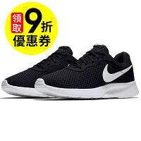 【NIKE】NIKE TANJUN 休閒鞋 輕量 透氣網布 黑色 (男) -812654011-動力城市-潮流男裝