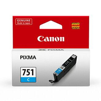 【CANON 墨水匣】 CLI-751C 藍色原廠墨水匣/適用MG-7170