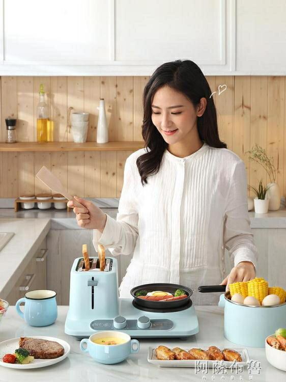 早餐機 東菱早餐機多功能小型四合一體三明治機家用烤面包機全自動多士爐