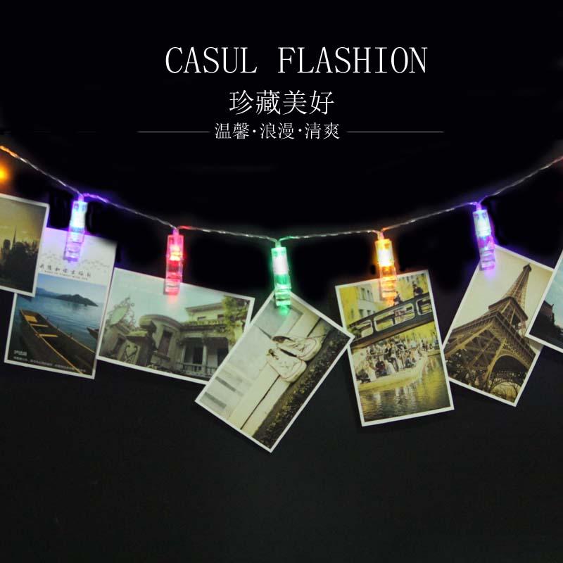 LED發光照片明信片夾 SD1969