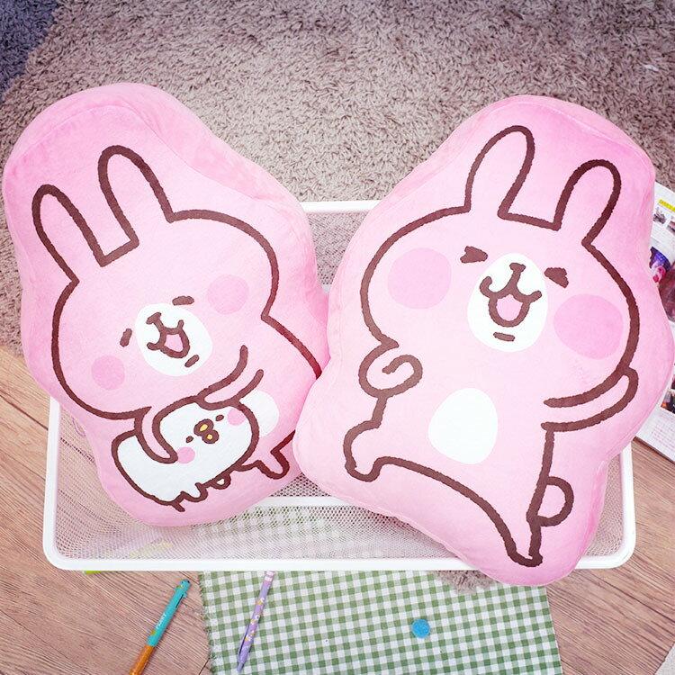 PGS7 日本卡通系列商品 - Kanahei 卡娜赫拉 2D 造型枕 抱枕 娃娃 午睡墊 P助 兔兔【SJB3666】