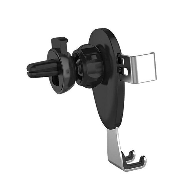 出風口+黏貼式 重力感應 兩用手機架 L02-064【禾笙科技】