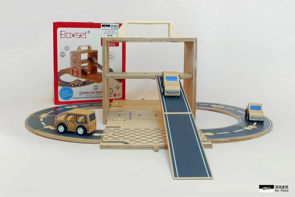 統一時代百貨台北店:【DeMaui頂茂家居】Boxset攜帶式玩具箱-車子屋