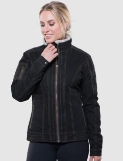 ├登山樂┤美國KUHLBURRLINEDJACKET女內刷毛復古外套-深咖啡#2092