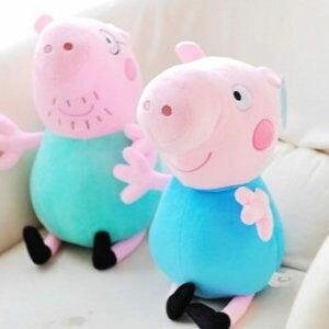 美麗大街【104061602】12吋可愛佩佩豬 玩偶 抱枕 娃娃(不挑款)
