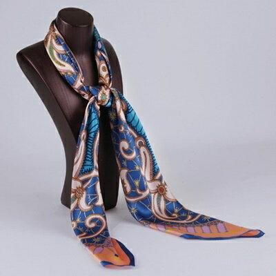 絲巾桑蠶絲圍巾-淡雅大方精緻設計女配件4色73hx34【獨家進口】【米蘭精品】