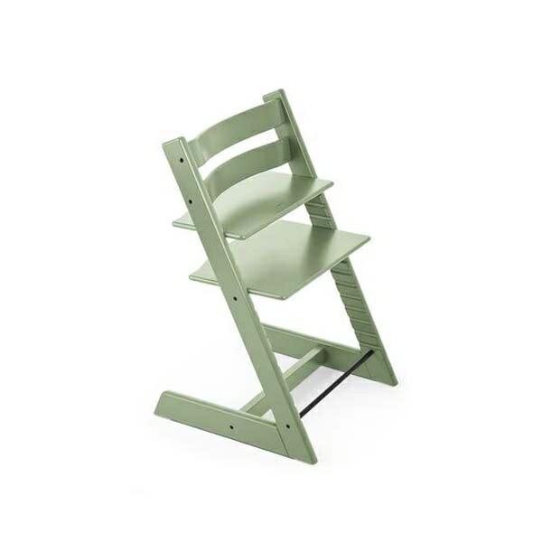 STOKKETrippTrapp®成長椅(櫸木春苔綠)餐椅