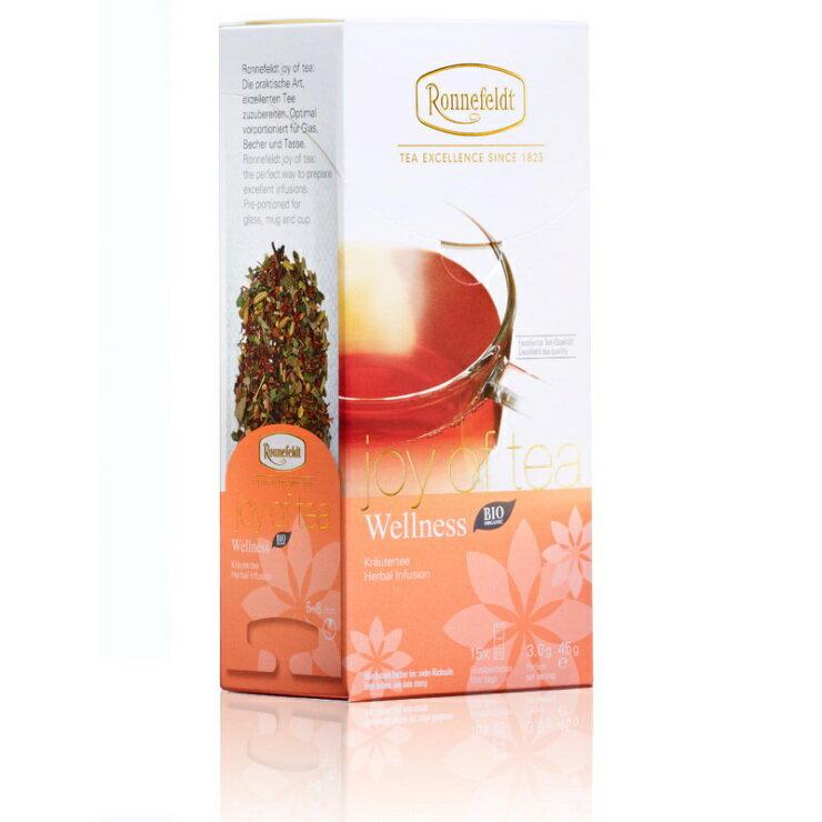 德國 Ronnefeldt 23110 Joy of Tea Wellness健康國寶茶 杯茶 耳掛式 國寶茶 花茶