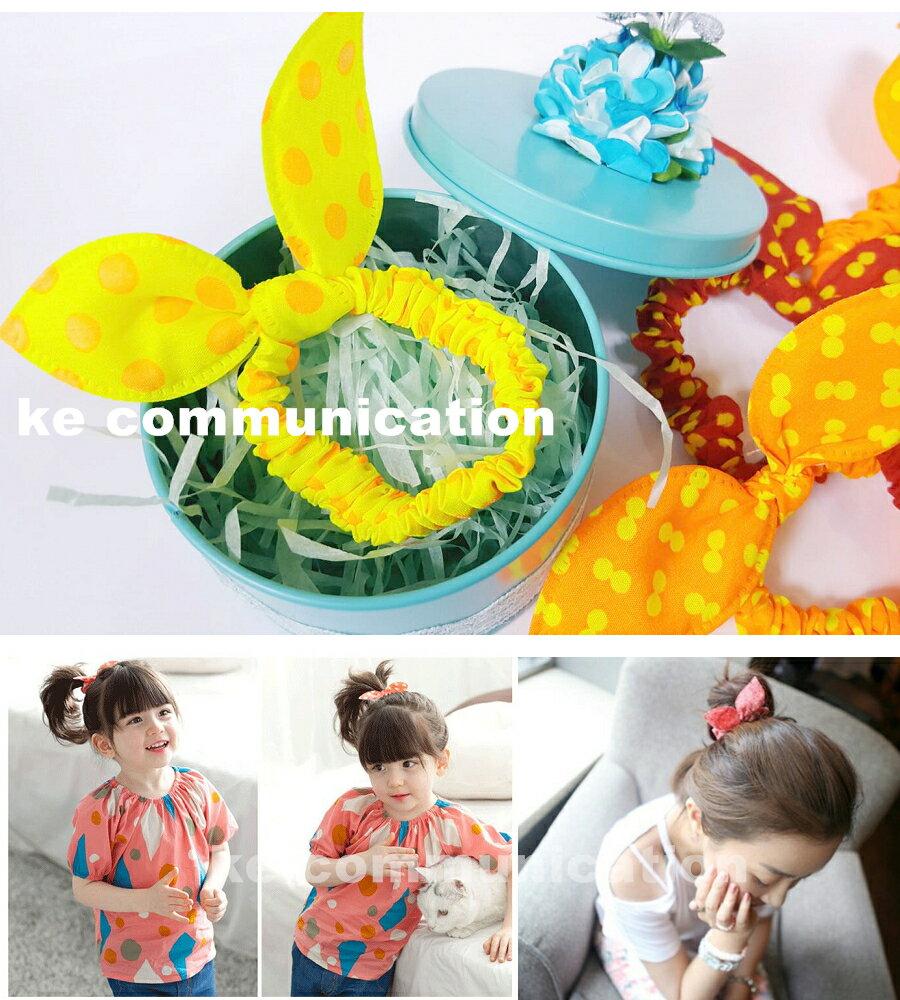 24H快速出貨 10元回饋批發價 韓國氣質 頭花 蝴蝶結 兔耳朵 髮圈 髮束 頭飾 馬尾 包包頭造型
