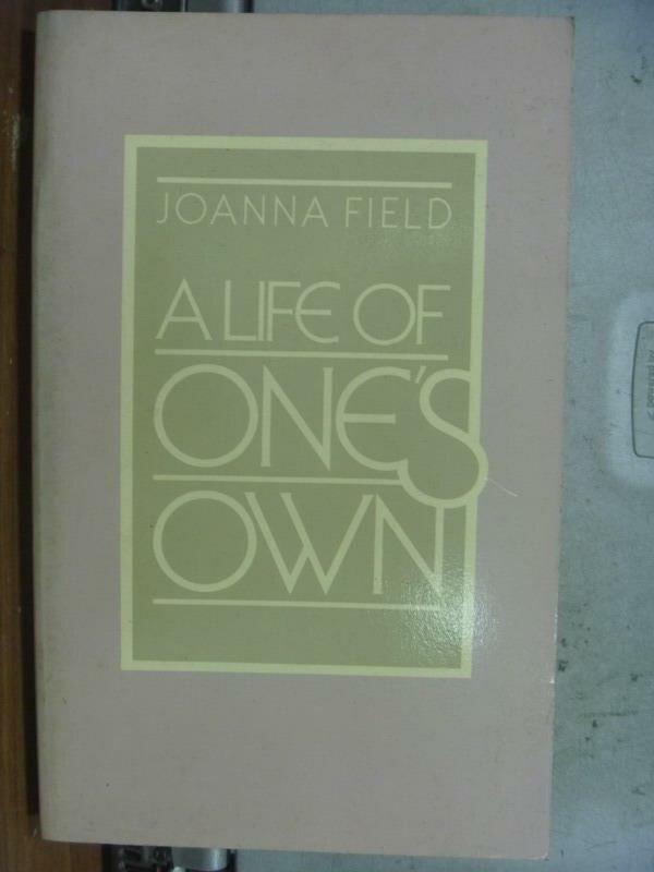 【書寶二手書T7/原文小說_MDD】A life of one's own_1981