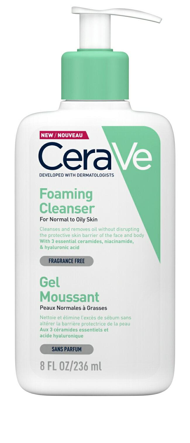 CeraVe溫和泡沫潔膚露 236ml 0