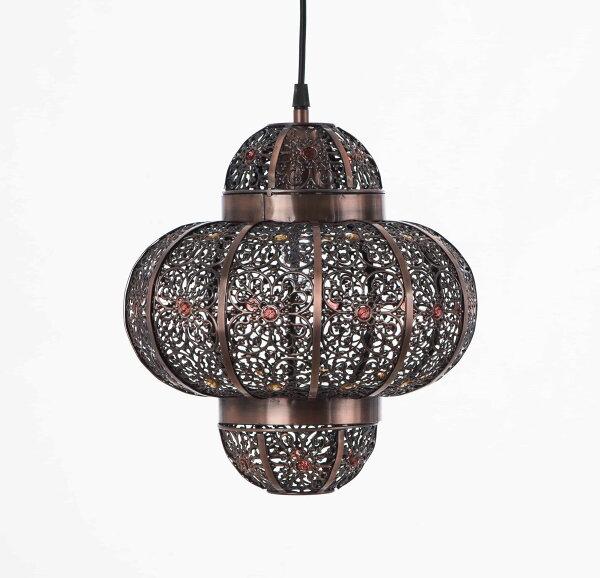 紅銅刷黑摩洛哥風吊燈-BNL00008