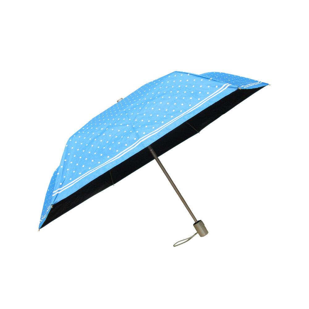雨傘 陽傘 ☆萊登傘☆ 抗UV 防曬 輕 色膠 黑膠 自動傘 自動開合 Leighton 圓點印花