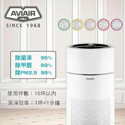 AVIAIR AVI-500智能ECO空氣循環清淨機-除菌率>95%、除甲醛>99%、除PM2.5 >99.9%