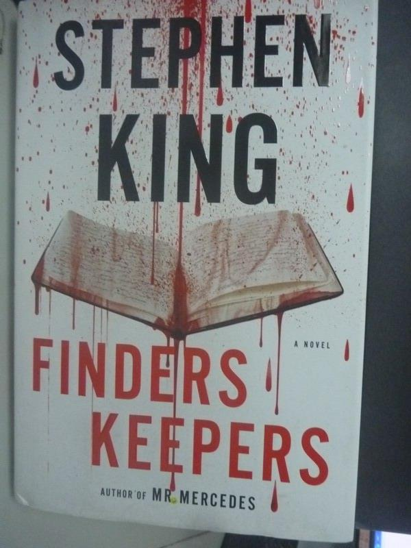 ~書寶 書T8/原文小說_WDV~Finders Keepers_Stephen King
