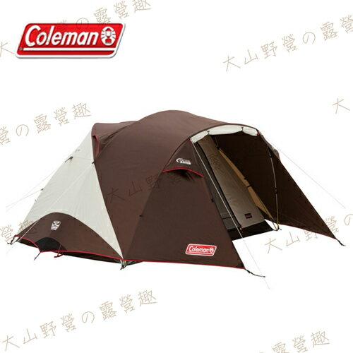 【露營趣】中和安坑 Coleman CM-27281 氣候達人BREATHE圓頂帳/300Ⅳ 6~8人帳篷 家庭帳篷 露營帳篷