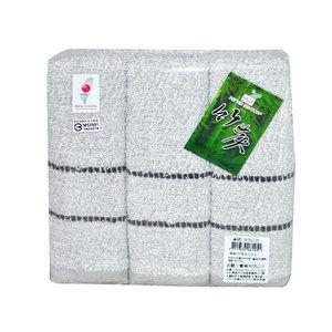 竹炭毛巾 WT~6125   3入   組