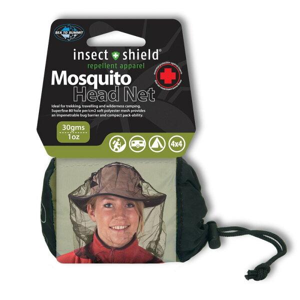 ├登山樂┤澳洲SeaToSummit驅蚊處理防蚊帽黑#STSAMOSHP