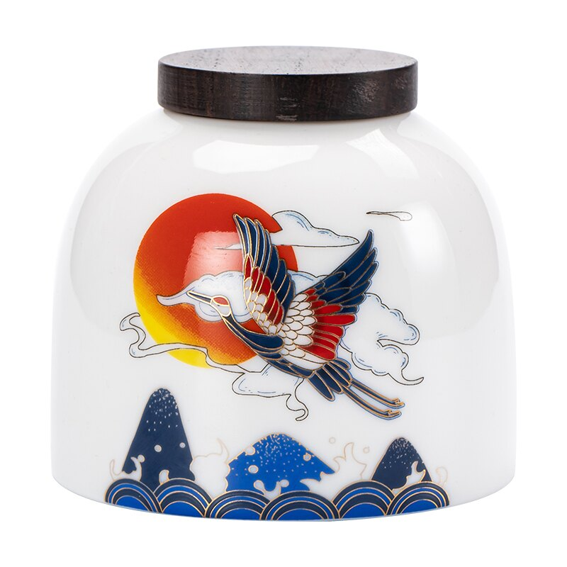 德化羊脂玉白瓷茶葉罐陶瓷密封罐兩罐禮盒裝茶罐茶葉包裝普洱罐子