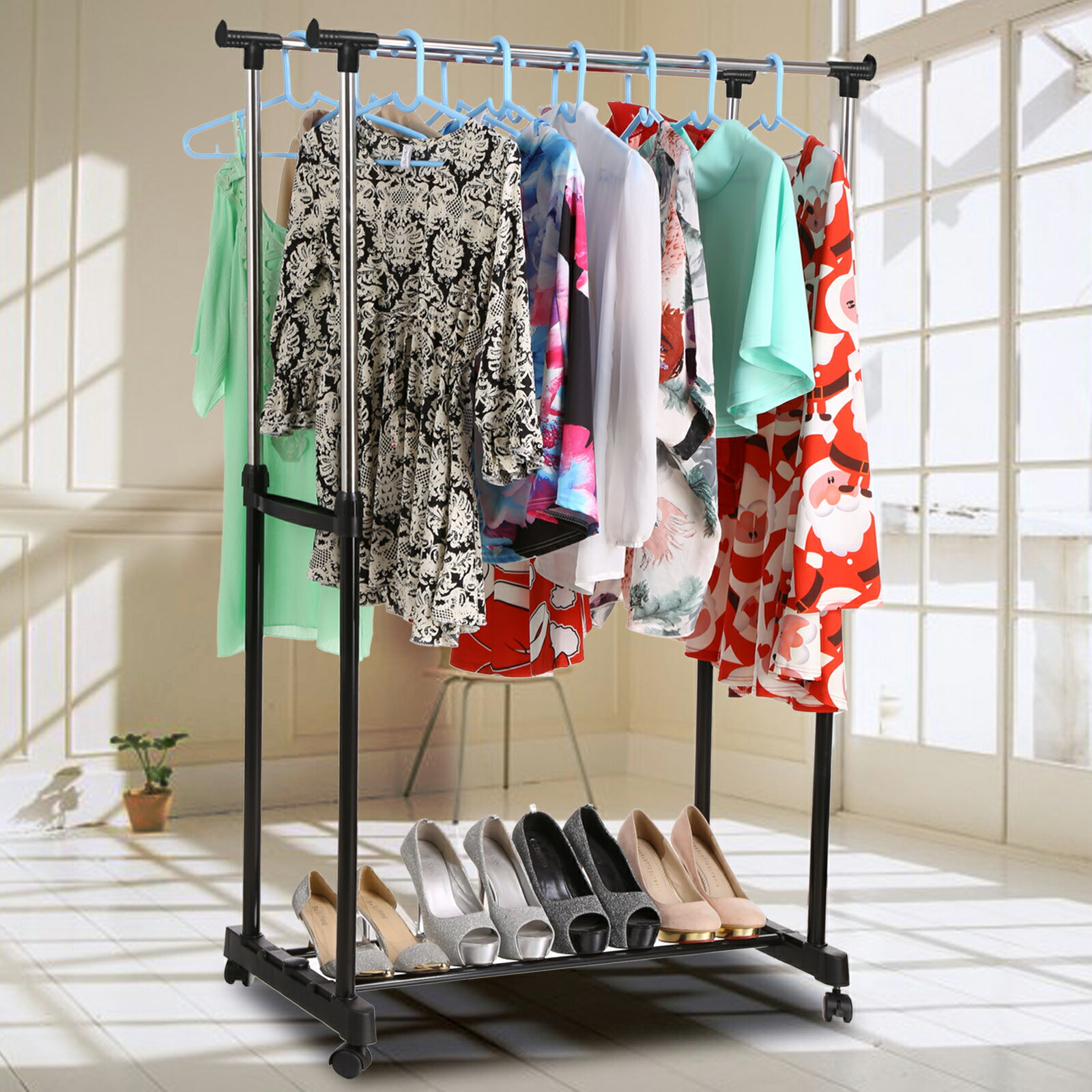 Clothes Garment Drying Hanging Racks 9