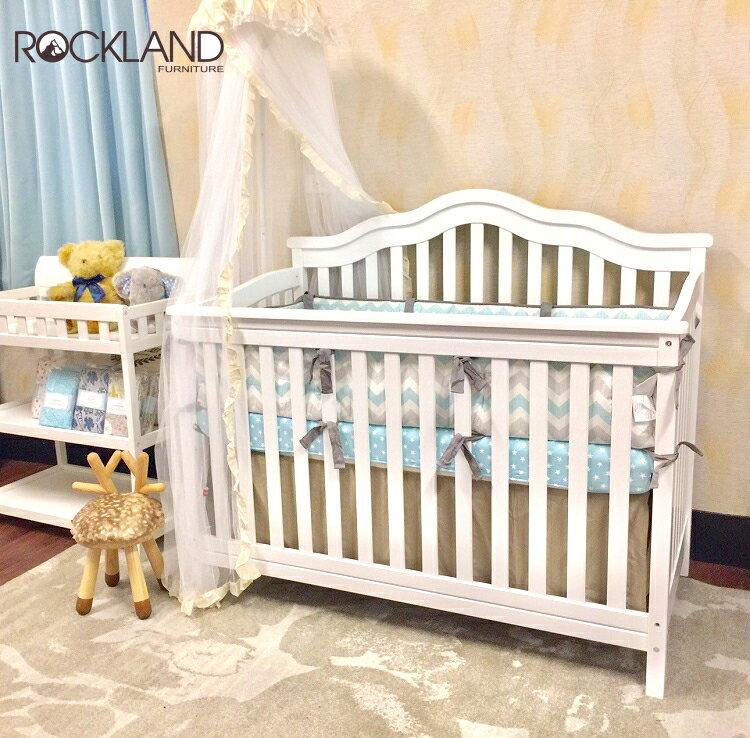 【Rockland】Summer四合一大床 嬰兒床可變青少年床 附贈床墊