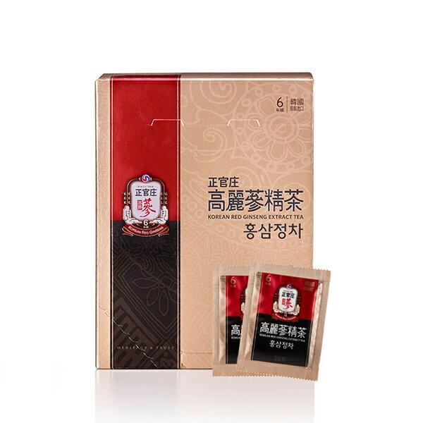 宅配免運【正官庄】高麗蔘精茶50包 / 盒 禮盒裝 高濃度蔘茶 濃縮即溶茶粉 4 / 10左右出貨 1