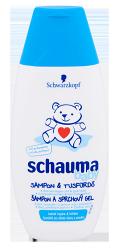 Schwarzkopf 德國施華蔻  Schauma Baby嬰幼童2合1洗髮乳(洗髮&沐浴)