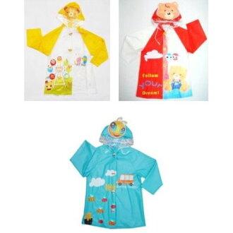 ★衛立兒生活館★幼兒前開式卡通雨衣(S.M.L.XL)D01-890(顏色隨機出貨)