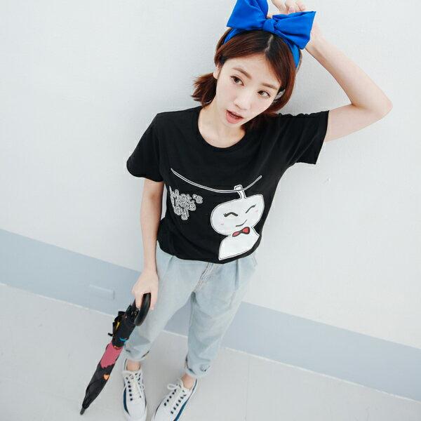 T恤 情侶裝 客製化 MIT台灣製純棉短T 班服◆快速出貨◆獨家配對情侶裝.晴天娃娃【Y0002】可單買.艾咪E舖 5