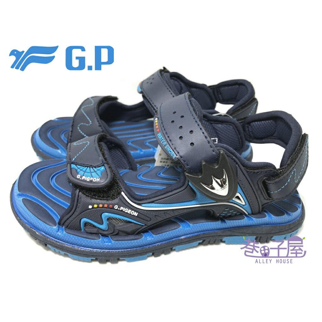 【巷子屋】G.P 童款磁釦兩穿系列透氣運動涼鞋 [5929] 藍 超值價$398