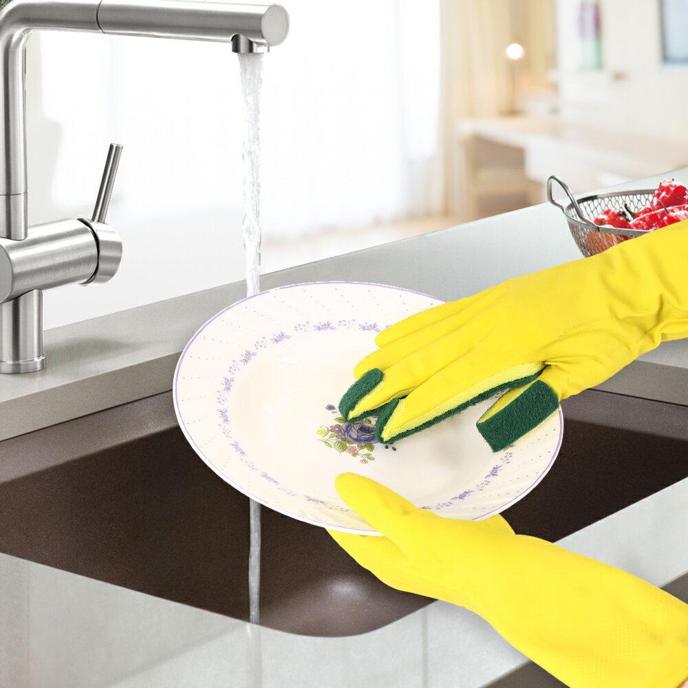 全能去污王 多功能好清潔右手菜瓜布手套1雙(MP0293)