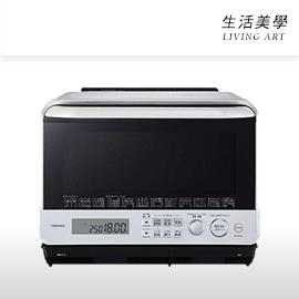 嘉頓國際 日本進口 TOSHIBA 東芝【ER-PD100】水波爐 30L 微波爐 烤箱 麵包 過熱水蒸 液晶螢幕顯示 遠紅外線 自動節電