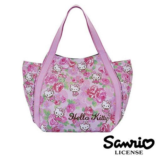 4035~ ~Hello Kitty X Dearisimo 帆布肩揹包 托特包 帆布包