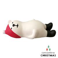 幫家裡聖誕佈置裝飾推薦聖誕佈置壁貼到Decole 聖誕節公仔 - 滿腹的白熊  Concombre ( ZXS-48182 ) 現貨 推薦聖誕交換禮物 聖誕佈置裝飾推薦就在文五雙全x文具五金生活館推薦幫家裡聖誕佈置裝飾