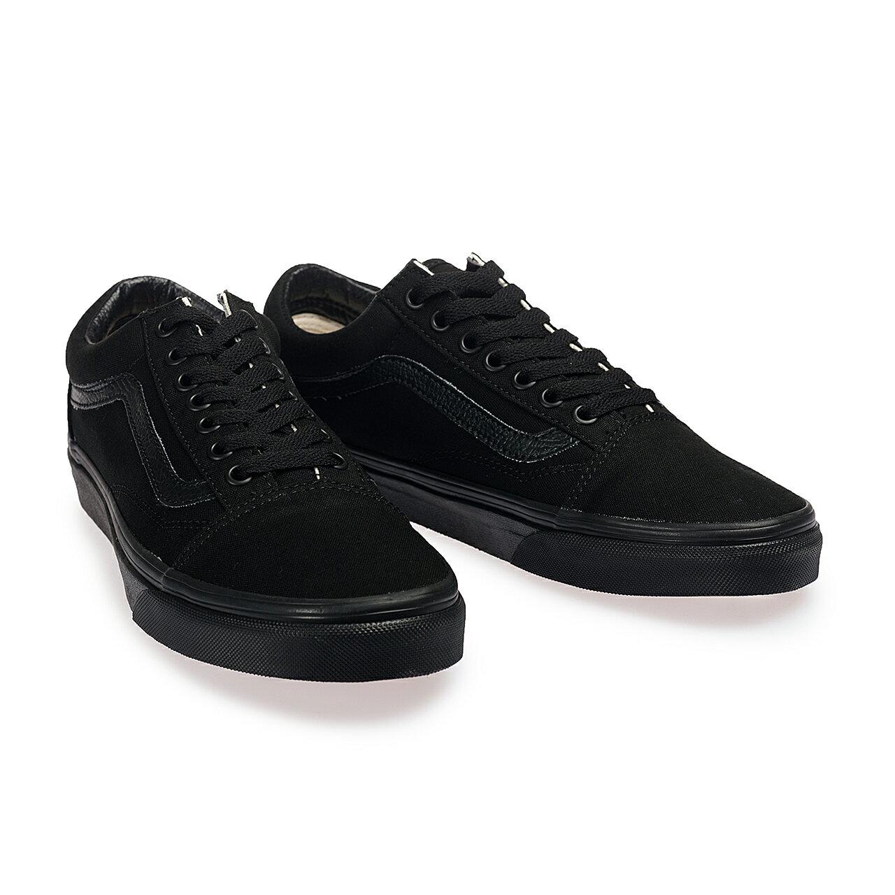 【VANS】Old Skool 基本款 全黑 經典款 平底鞋 帆布鞋 男女 專櫃價1980 C010511 (palace store)