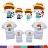 ◆快速出貨◆T恤.親子裝.情侶裝.班服.MIT台灣製.獨家配對情侶裝.客製化.純棉短T.去海邊囉!【YC422】可單買.艾咪E舖 0