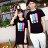◆快速出貨◆T恤.情侶裝.班服.MIT台灣製.獨家配對情侶裝.客製化.純棉短T.三彩條ABA【Y0313】可單買.艾咪E舖 2