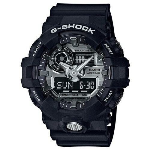 CASIO/G-SHOCK/完美絕對強悍運動錶/黑/GA-710-1ADR