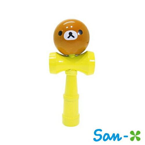 sightme看過來購物城:懶熊款【日本進口正版】San-X拉拉熊木製劍玉劍球日月球玩具懶懶熊Rilakkuma-477025