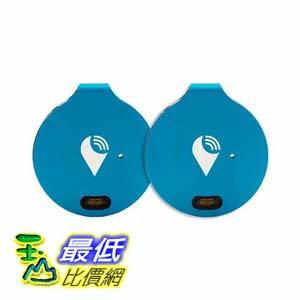 第2代新款可更換電池 [106美國直購] TrackR bravo 定位器 Key Tracker, Phone Finder, Wallet Locator, Generation 2 Blue 2..