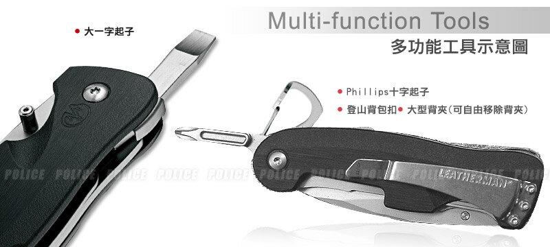 [ LEATHERMAN ] CRATER C33TX半齒半刃 折刀 / 25年保固 / 公司貨 860221N