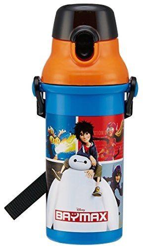 日本直送 Disney 迪士尼 Baymax 大英雄天團 圖案風格 直飲式 水壺 480ml 日本製